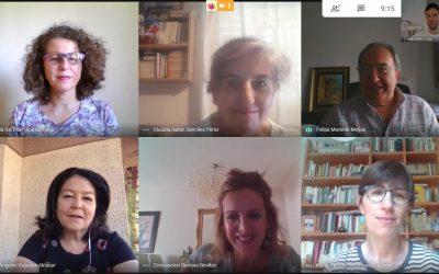 Reunión virtual del Comité de Organización del X Congreso Andaluz de Sociología